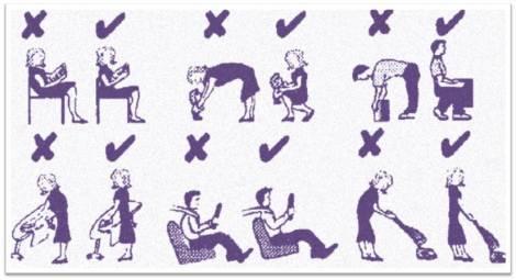 Posturas a corregir para el dolor de espalda